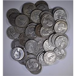 $13.00 FACE VALUE 90% SILVER QUARTERS