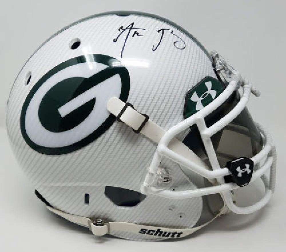 Aaron Rodgers Signed Packers LE Custom Hydro Dipped