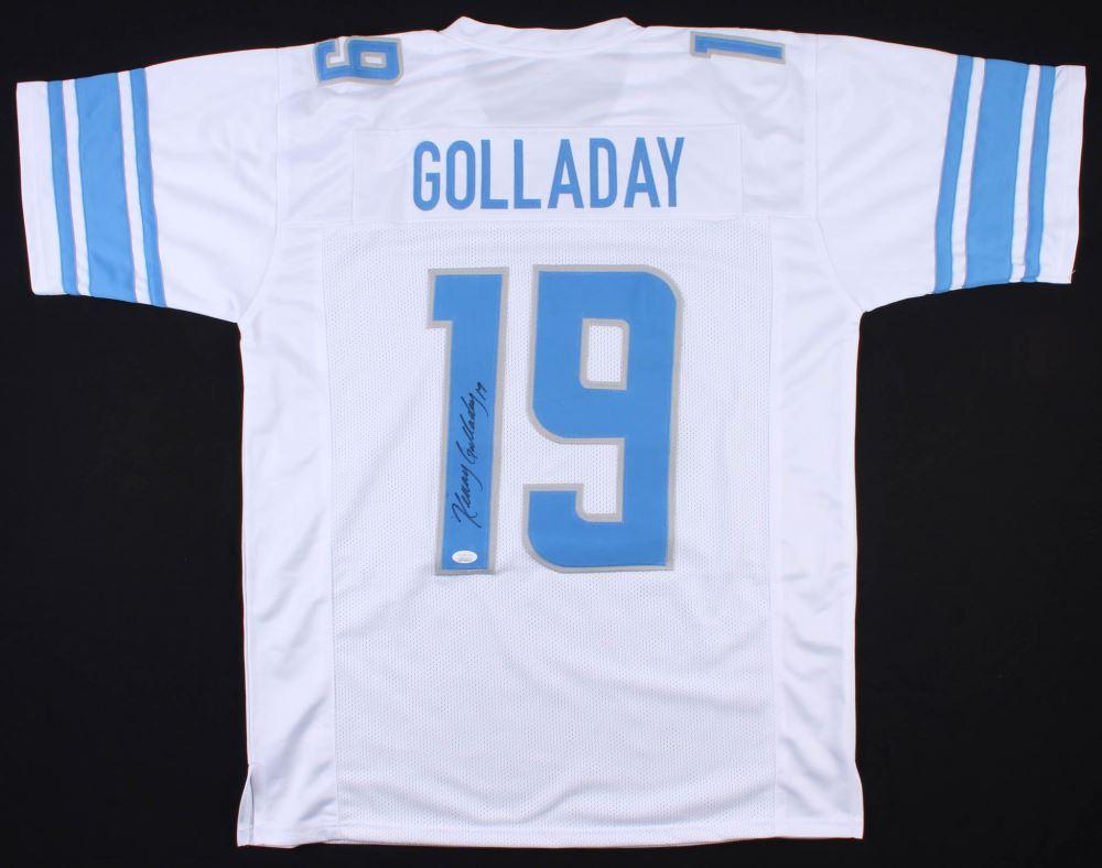 sports shoes 6849c 95b86 Kenny Golladay Signed Detroit Lions Jersey (JSA COA)