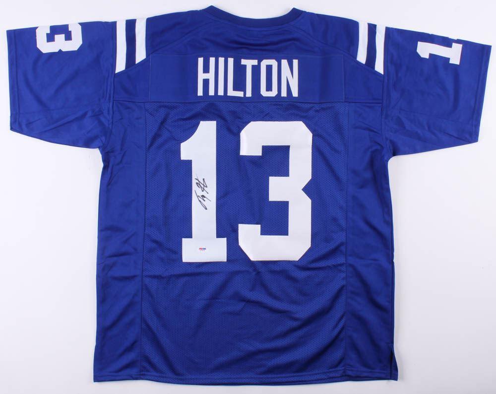 online retailer b041c 058f9 T. Y. Hilton Signed Indianapolis Colts Jersey (PSA COA)