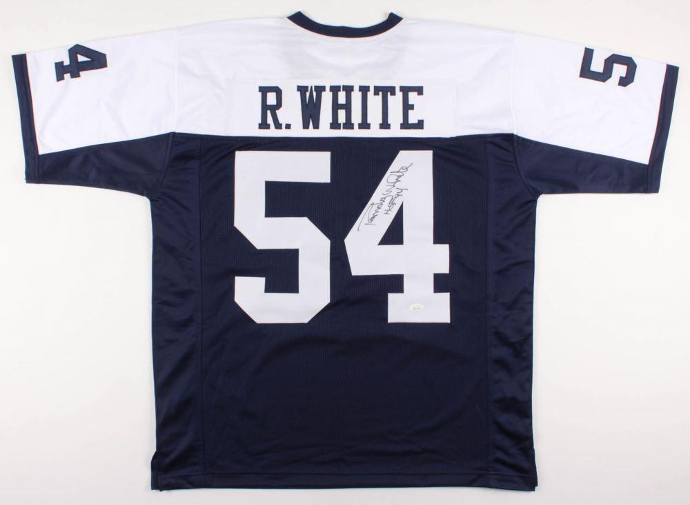 san francisco 952fc 54b08 Randy White Signed Dallas Cowboys Jersey Inscribed