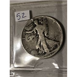 1937 P Silver Walking Liberty Half Dollar Nice Early US Coin