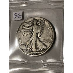 1944 S Silver Walking Liberty Half Dollar Nice Early US Coin