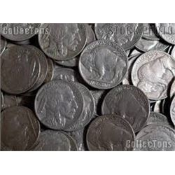 Bag of 5 BUFFALO NICKELS Assorted Dates & Mints out of Bucket Estate from Spirit Lake, Idaho!
