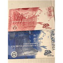 1999 P D US Mint Set in Original Packages