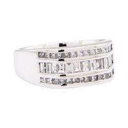14KT White Gold 2.45 ctw Diamond Ring