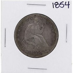 1854 Seated Liberty Half Dollar Coin