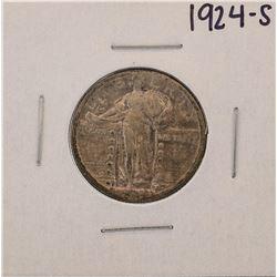 1924-S Standing Liberty Quarter Coin