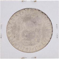 1771-L Peru 8 Reales Pillar Silver Coin