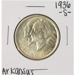 1936-S Arkansas Centennial Commemorative Half Dollar Coin