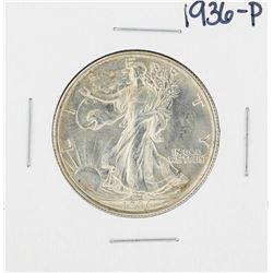 1936 Walking Liberty Half Dollar Coin