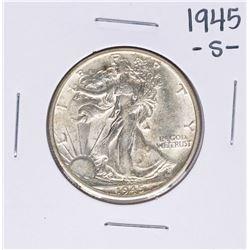 1945-S Walking Liberty Half Dollar Coin