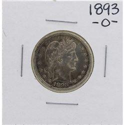1893-O Barber Quarter Coin