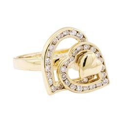 14KT Yellow Gold 1.10 ctw Diamond Ring