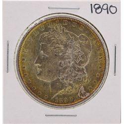 1890 $1 Morgan Silver Dollar Coin Amazing Toning