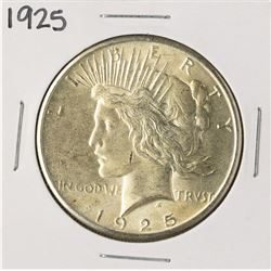 1925 $1 Peace Silver Dollar Coin
