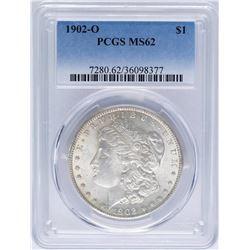 1902-O $1 Morgan Silver Dollar Coin PCGS MS62