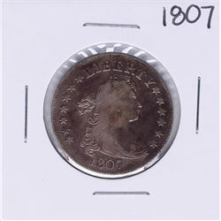 1807 Draped Bust Quarter Coin