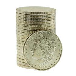 Roll of (20) Brilliant Uncirculated 1902-O $1 Morgan Silver Dollar Coins