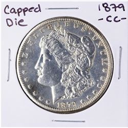 1879-CC Capped Die $1 Morgan Silver Dollar Coin