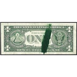 1977 $1 Federal Reserve Note Ink Smear ERROR