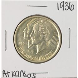 1936 Arkansas Centennial Commemorative Half Dollar Coin