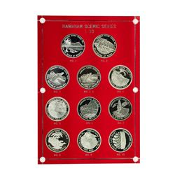 Hawaiian Scenic Series Set(5) Coin Proof Set