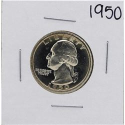 1950 Proof Washington Quarter Coin