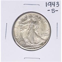 1943-S Walking Liberty Half Dollar Coin