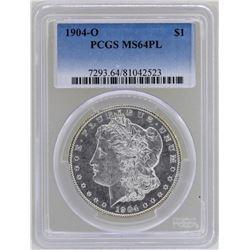 1904-O $1 Morgan Silver Dollar Coin PCGS MS64PL