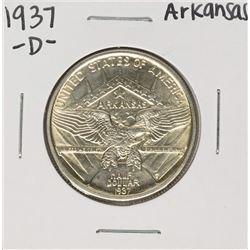 1937-D Arkansas Centennial Commemorative Half Dollar Coin