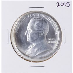 2015 Harry S. Truman Commemorative Silver Medal