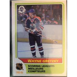 1986-87 O-Pee-Chee Wayne Gretzky Card #260