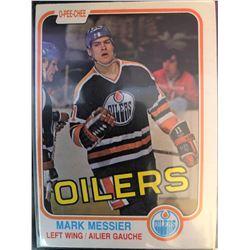 1981-82 O-Pee-Chee Mark Messier 2nd Year Card #118