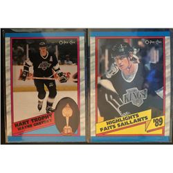 1989-90 O-Pee-Chee X 2 Wayne Gretzky #320 Hart Trophy