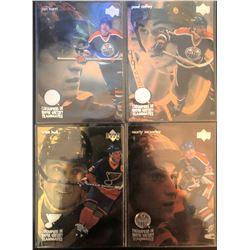 1998-99 Upper Deck McDonalds X 4 Wayne Gretzky