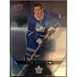 2018-19 Upper Deck Tim Horton's Tim Horton Card #1