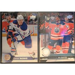 2017-18 Upper Deck Connor Mcdavid #320 Series #2 And
