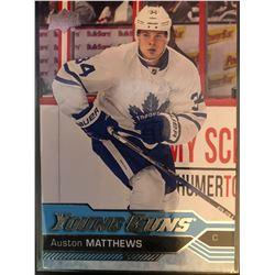 2016-17 Upper Deck Young Guns Auston Matthews #201