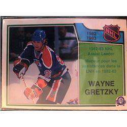 1983-84 O-Pee-Chee Wayne Gretzky Card #216