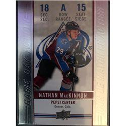 2018-19 Upper Deck Tim Horton's Nathan MacKinnon