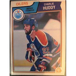 1983-84 O-Pee-Chee Charlie Huddy Rookie Card #30
