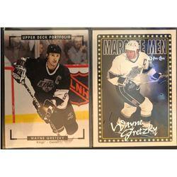 2015-16 Upper Deck Portfolio Wayne Gretzky Card #285