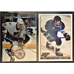 1996-97 Donruss Wayne Gretzky Card #93 And 1993-94