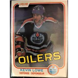 1981-82 O-Pee-Chee Rookie Kevin Lowe Card #117