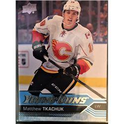 2016-17 Upper Deck Young Guns Matthew Tkachuk #231