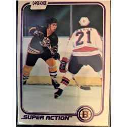 1981-82 O-Pee-Chee Ray Bourque Card #17