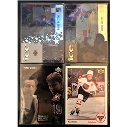 Wayne Gretzky Upper Deck Mcdonalds 4 Card Lot