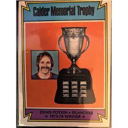 1974-75 O-Pee-Chee Denis Potvin Calder Memorial Winner