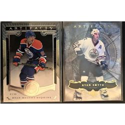 2006-07 Artifacts Ryan Smith Card #62 And 2015-16